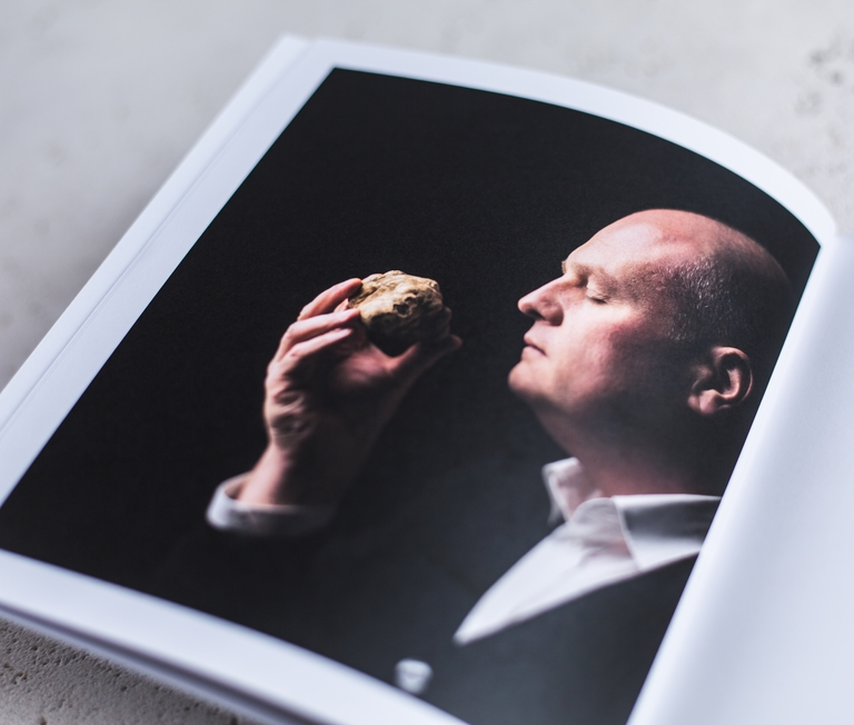 Truffel.be - brochure, productfotografie en copywriting - ikoon tielt