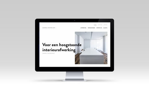 imac met website Lakkerij Oosterlinck